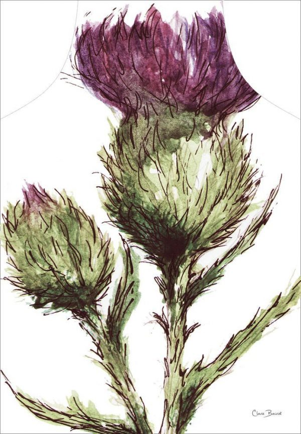 Thistle Apron - by Clare Baird