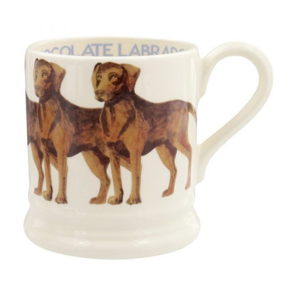 Emma Bridgewater Chocolate Labrador 1/2 Pint Mug