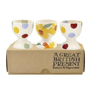 Emma Bridgewater Daffodils Set of 3 Egg Cups
