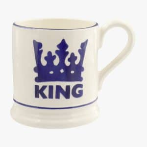 Emma Bridgewater The King 1/2 Pint Mug