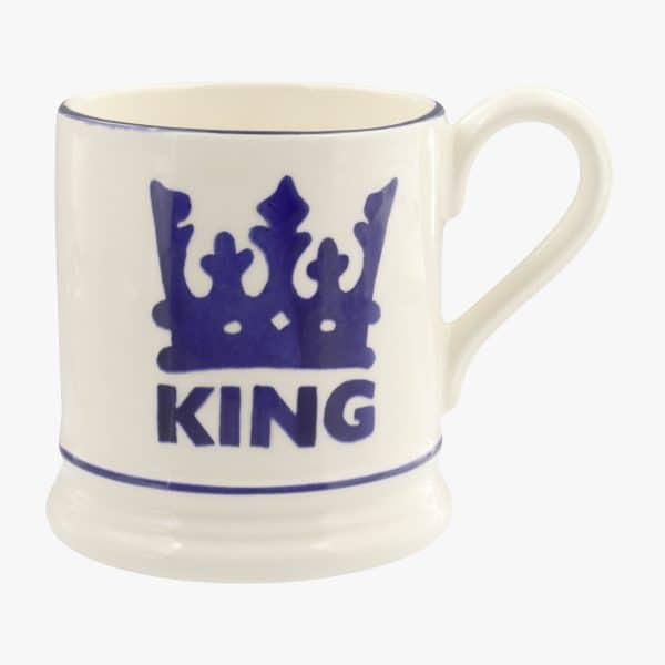 Emma Bridgewater The King 1/2 Pint Mug
