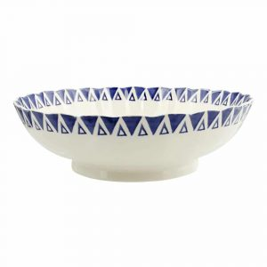 Emma Bridgewater Lion Large Fluted Bowl