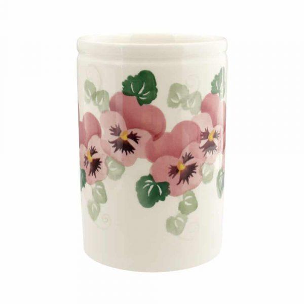 Emma Bridgewater Pink Pansy Medium Vase
