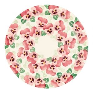 Emma Bridgewater Pink Pansy Serving Plate