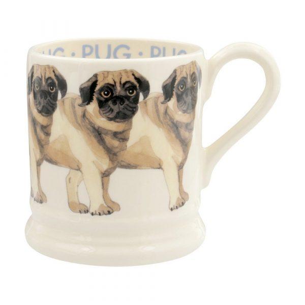 Emma Bridgewater Pug 1/2 Pint Mug