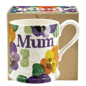 Purple Pansy Mum 1/2 Pint Mug