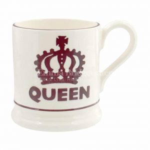 Emma Bridgewater The Queen 1/2 Pint Mug