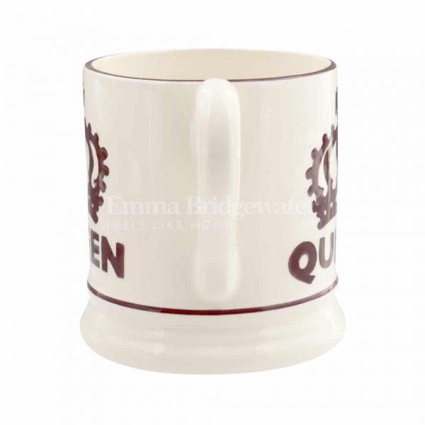 Emma Bridgewater The Queen 1/2 Pint Mug