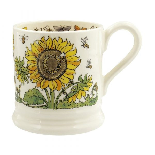Emma Bridgewater Sunflowers & Bees 1/2 Pint Mug