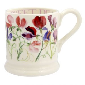 Emma Bridgewater Sweet Pea Multi 1/2 Pint Mug