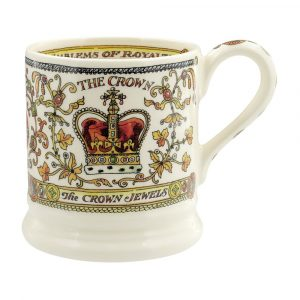 Emma Bridgewater The Crown 1/2 Pint Mug