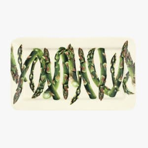 Veg Garden Asparagus Medium Oblong Plate