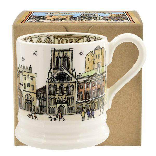 Emma Bridgewater Cities of Dreams York 1/2 Pint Mug Boxed