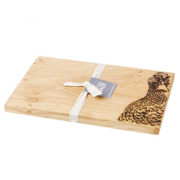 Duck Serving Board - Scottish Oak