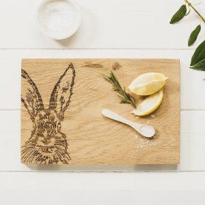 Hare Oak Serving Board