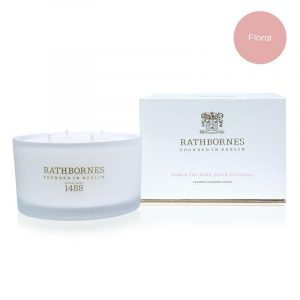 Luxury Candle - Dublin Tea Rose, Oud & Patchouli