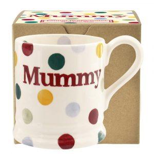 Emma Bridgewater Polka Dot Mummy 1/2 Pint Mug