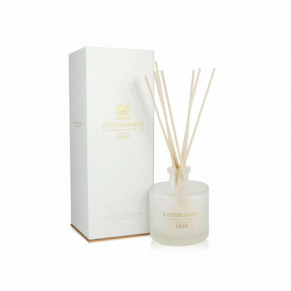 Reed Diffuser Dublin Tea Rose, Oud & Patchouli