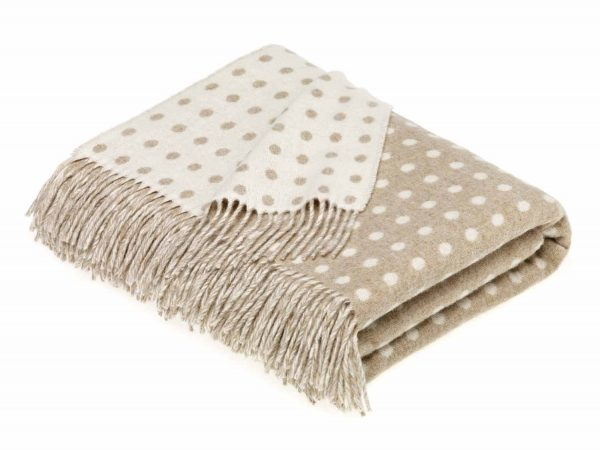Spot Throw - Natural - Bronte by Moon