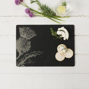 Slate Thistle Cheese Board