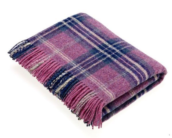 National Trust Collection Throw - Montacute Heather - Bronte by Moon