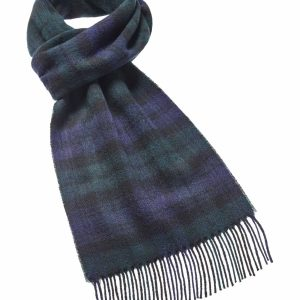Tartan Scarf Collection - Black Watch - Bronte by Moon