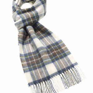 Tartan Scarf Collection - Muted Blue Stewart - Bronte by Moon