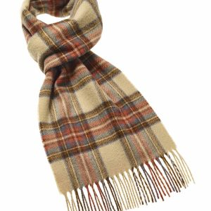 Tartan Scarf Collection - Antique Dress Stewart - Bronte by Moon