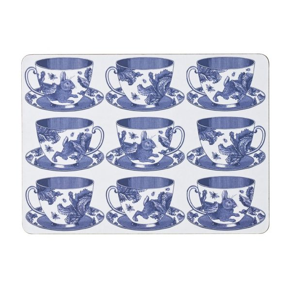 Thornback & Peel - Teacup Placemat