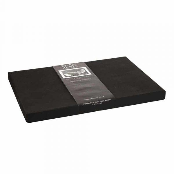 Just Slate - Pheasant Slate Cheese Board & Knife Gift Set