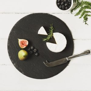 Just Slate - Round Cheese Board