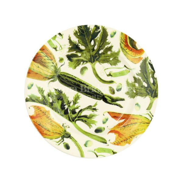 """Vegetable Garden Yellow Courgette 8 1/2"""" Plate"""
