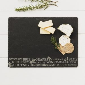 Just Slate - Anitipasti Cheeseboard
