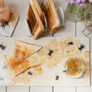Bees Sharing Platter Kate of Kensington