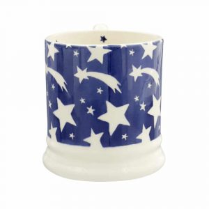 Blue Shooting Star Half Pint Mug