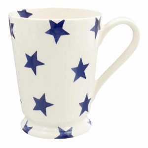 Emma Bridgewater Blue Stars Cocoa Mug