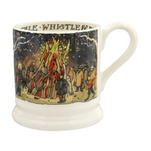 Emma Bridgewater Bonfire Night Litho Half Pint Mug