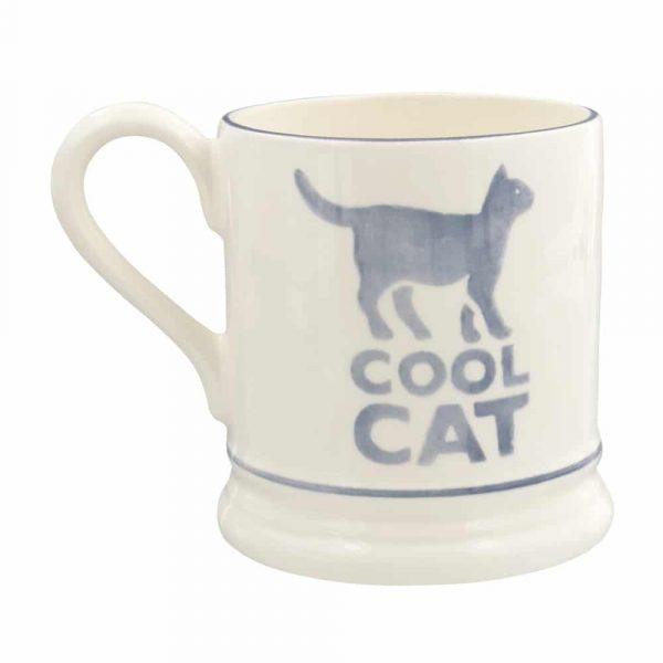 Emma Bridgewater Cool Cat Half Pint Mug