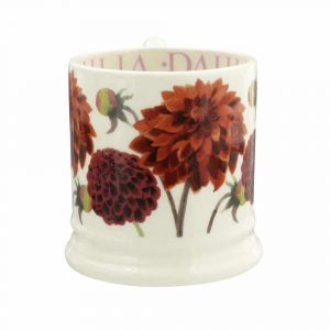 Emma Bridgewater Dahlia Half Pint Mug