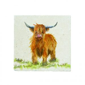 Highland Cow Large Platter - Kensington Collection by Kate of Kensington