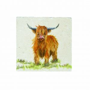 Highland Cow Medium Platter - Kate of Kensington