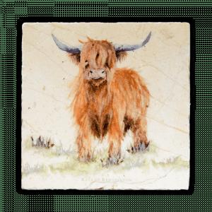 Highland Cow Medium Platter - Kate of Kensington