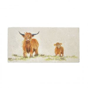 Highland Cow Sharing Platter - Kensington Collection by Kate of Kensington