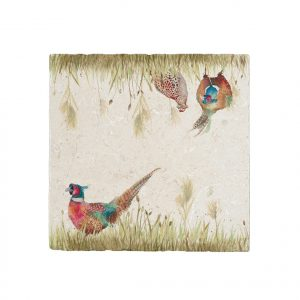 Pheasant in Grass Large Platter - Country Companions by Kate of Kensington