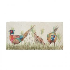 Pheasant in Grass Sharing Platter - Country Companions by Kate of Kensington