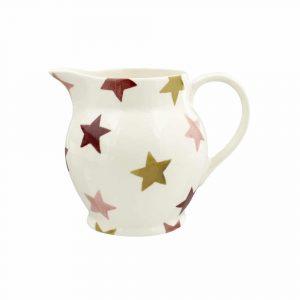 Emma Bridgewater Pink & Gold Stars Half Pint Jug