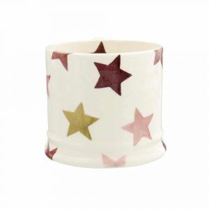 Emma Bridgewater Pink & Gold Stars Small Mug