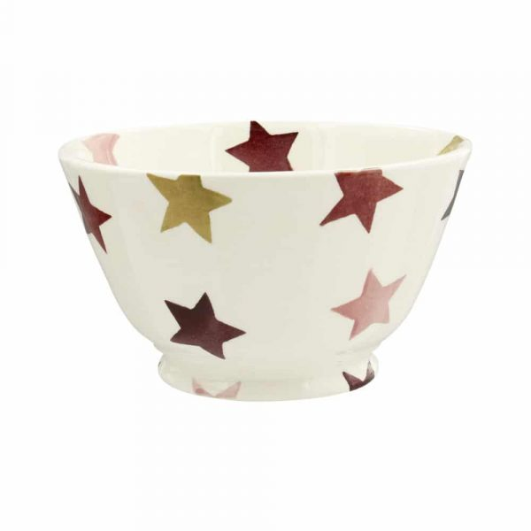 Emma Bridgewater Pink & Gold Stars Small Old Bowl