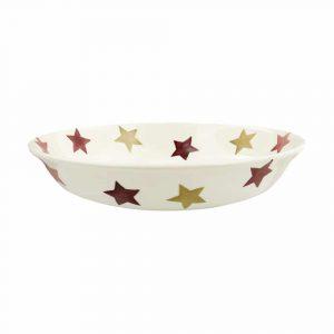 Emma Bridgewater Pink & Gold Stars Small Pasta Bowl