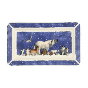 Emma Bridgewater Winter Animals Oblong Plate